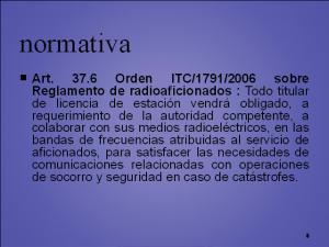 emcomms_normativa
