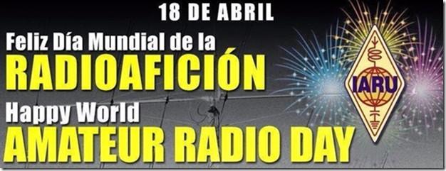 Día mundial del Radioaficionado 2016